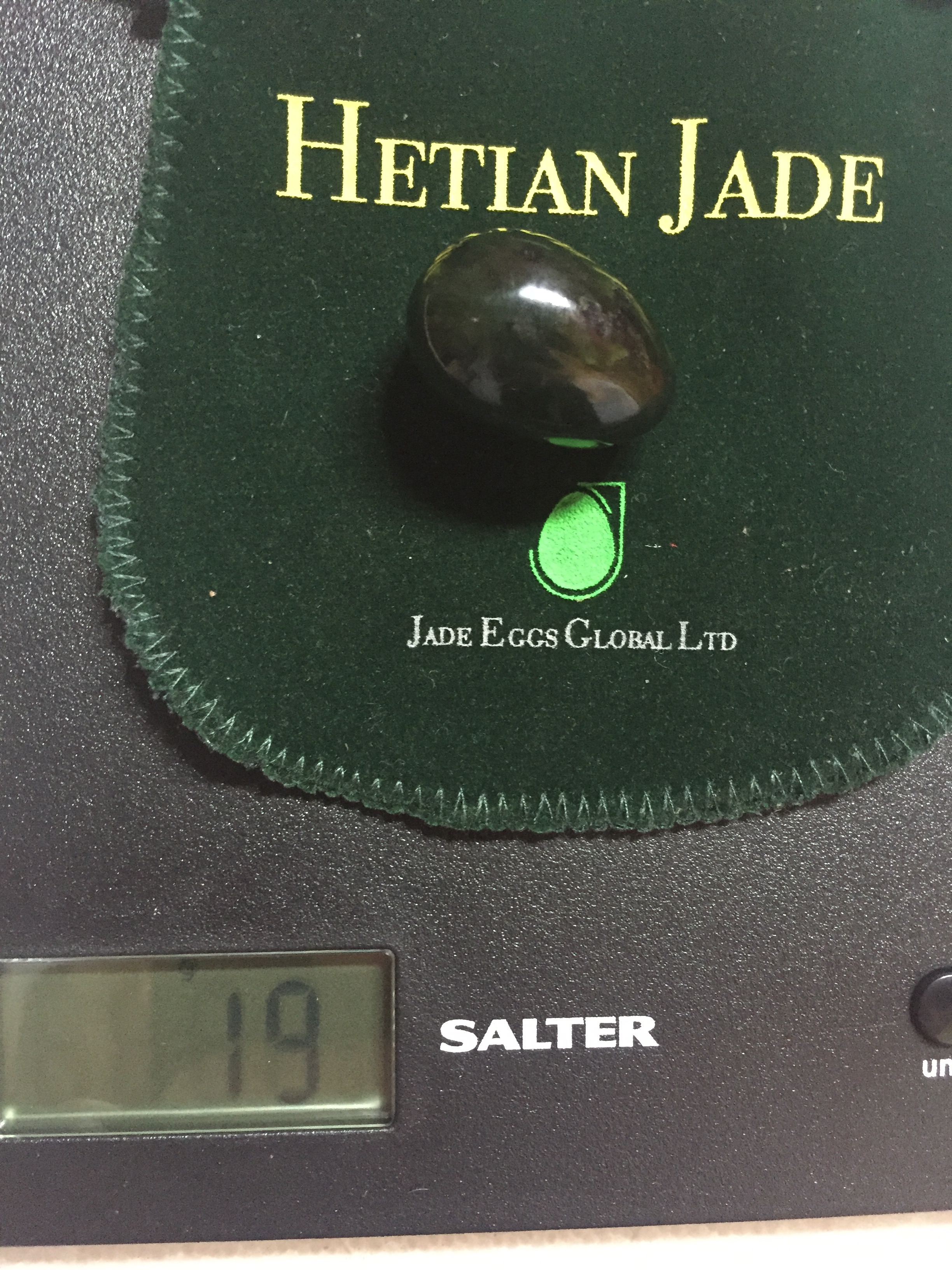 small hetian 19 grams